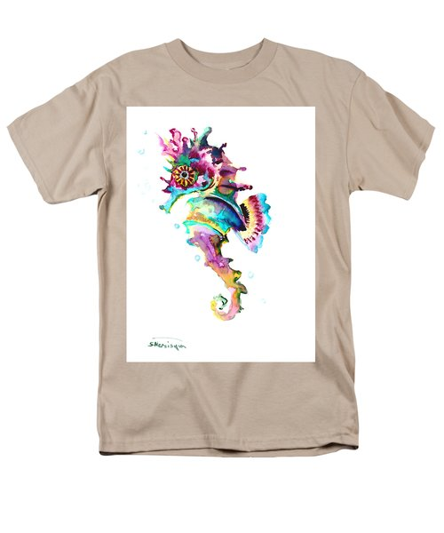 Baby Seahorse Men's T-Shirt  (Regular Fit) by Suren Nersisyan