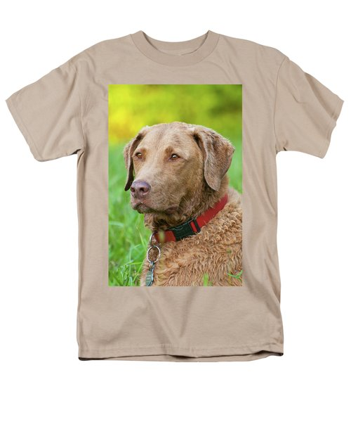 Men's T-Shirt  (Regular Fit) featuring the photograph Bailee 1149 by Guy Whiteley