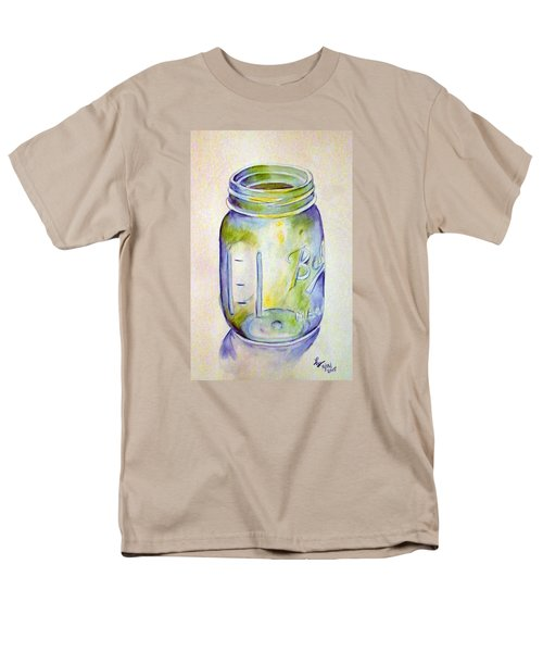 Ball Mason Jar Men's T-Shirt  (Regular Fit) by Loretta Nash
