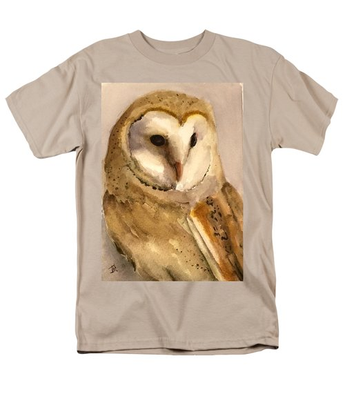 Barn Owl Men's T-Shirt  (Regular Fit)