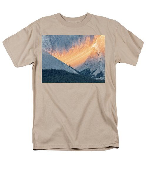 Men's T-Shirt  (Regular Fit) featuring the photograph Bathed In Light by Carl Amoth