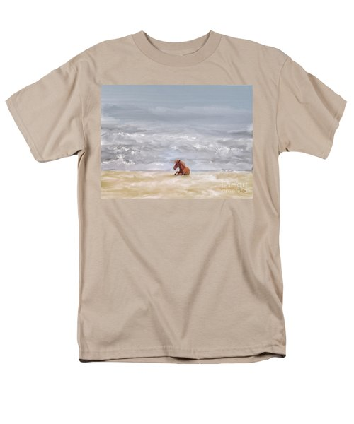 Men's T-Shirt  (Regular Fit) featuring the photograph Beach Baby by Lois Bryan