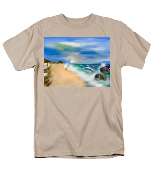 Beach Energy Men's T-Shirt  (Regular Fit) by Frank Bright
