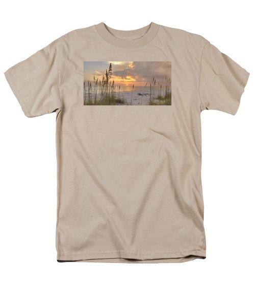 Beach Grass Sunset Men's T-Shirt  (Regular Fit)