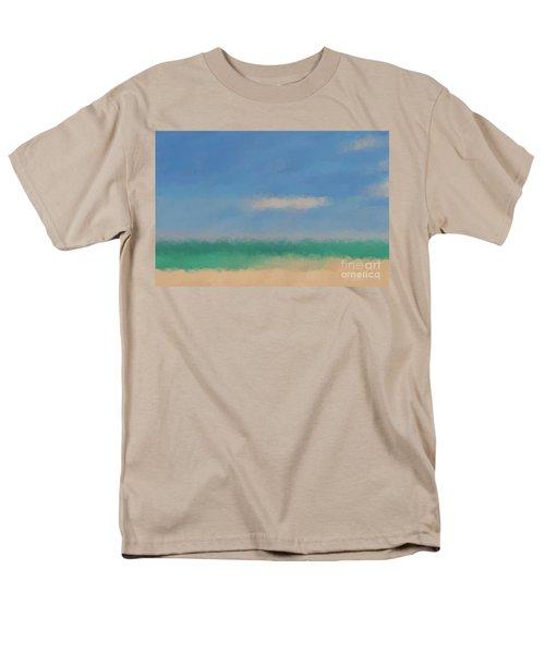 Beach Scene 6. Modern Decor Collection Men's T-Shirt  (Regular Fit) by Mark Lawrence