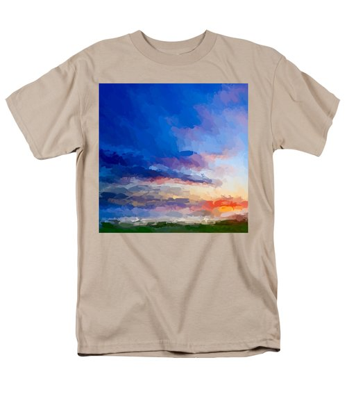 Beach Sunset Men's T-Shirt  (Regular Fit) by Anthony Fishburne