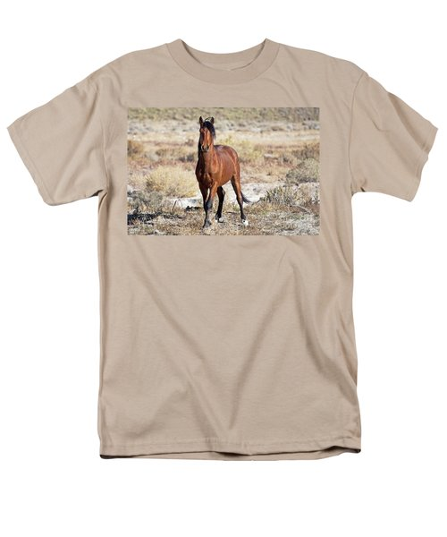 Men's T-Shirt  (Regular Fit) featuring the photograph Beautiful Bay by Lula Adams