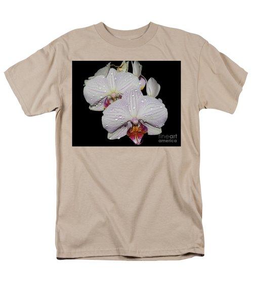 Men's T-Shirt  (Regular Fit) featuring the photograph Beautiful Oechid by Elvira Ladocki