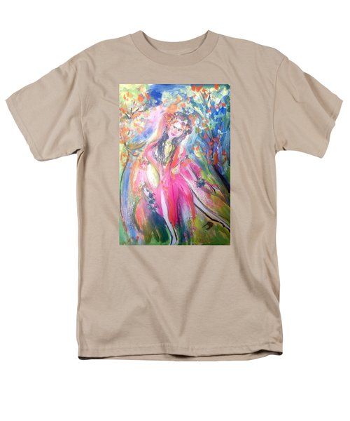 Beauty Is In The Eye Of The Beholder  Men's T-Shirt  (Regular Fit) by Judith Desrosiers