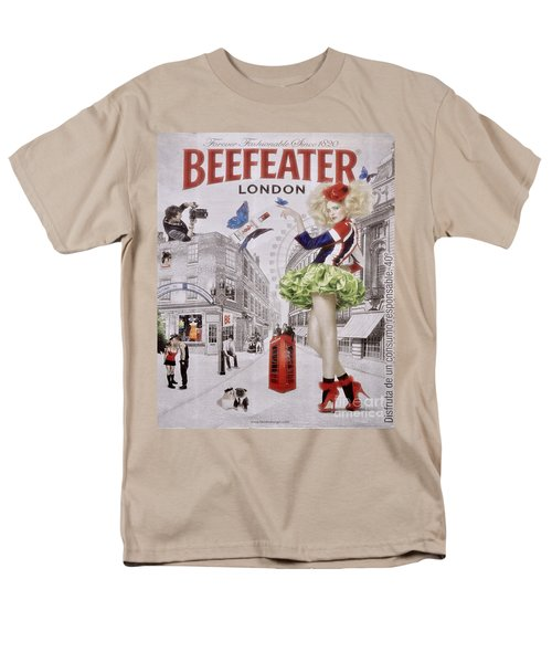 Beefeater Gin Men's T-Shirt  (Regular Fit) by Mary Machare