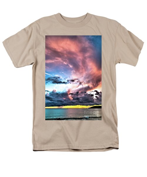 Men's T-Shirt  (Regular Fit) featuring the photograph Before The Storm Avila Bay by Vivian Krug Cotton