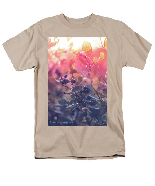 Berries In The Sun Men's T-Shirt  (Regular Fit) by Stefanie Silva