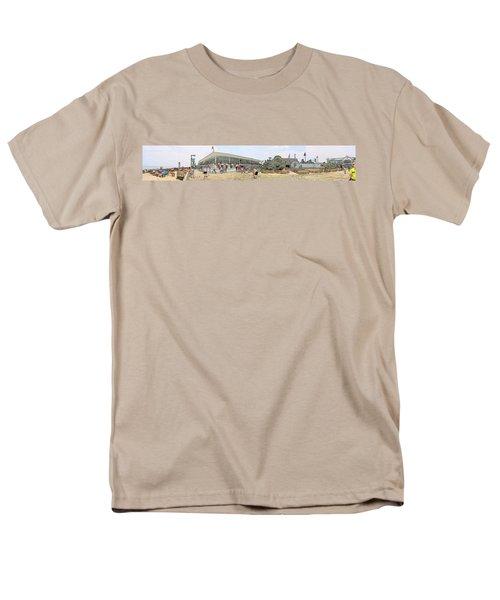 Bethany Beach Boardwalk Men's T-Shirt  (Regular Fit) by Jeffrey Todd Moore