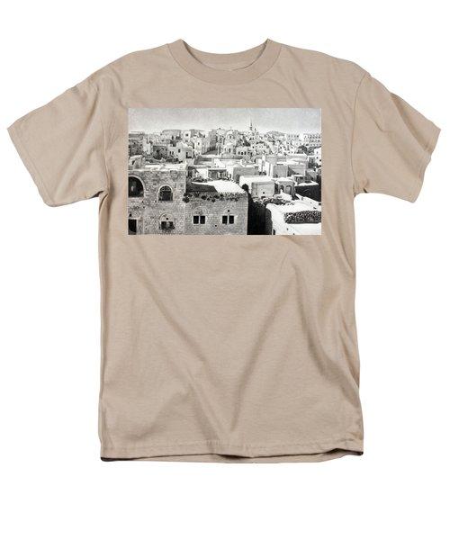 Bethlehem Old Town Men's T-Shirt  (Regular Fit) by Munir Alawi