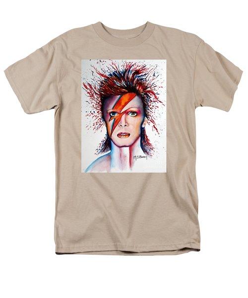 Bi Bi Bowie Men's T-Shirt  (Regular Fit) by Maria Barry