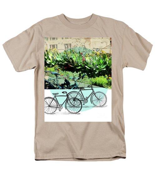 Bike Poster Men's T-Shirt  (Regular Fit) by Deborah Nakano