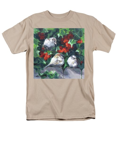 Bird Watching Men's T-Shirt  (Regular Fit) by Karen Ilari