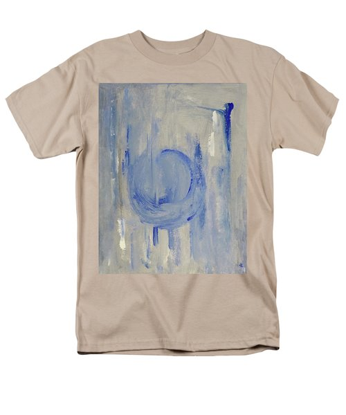 Men's T-Shirt  (Regular Fit) featuring the painting Blue Moon by Victoria Lakes