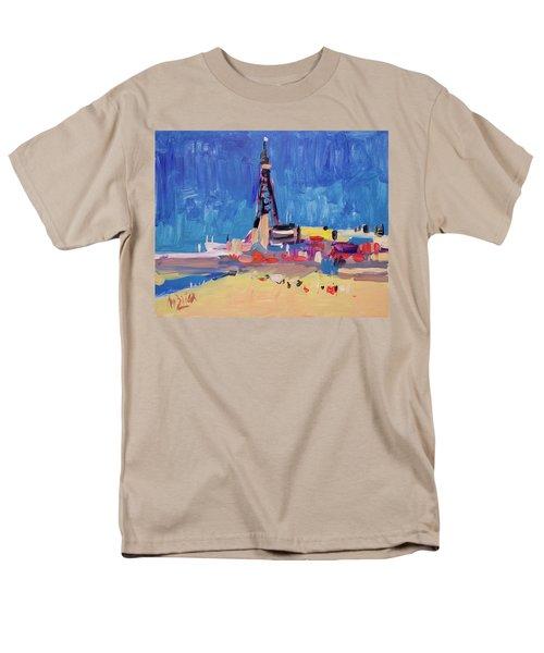 Blue Sky Blackpool Men's T-Shirt  (Regular Fit) by Nop Briex