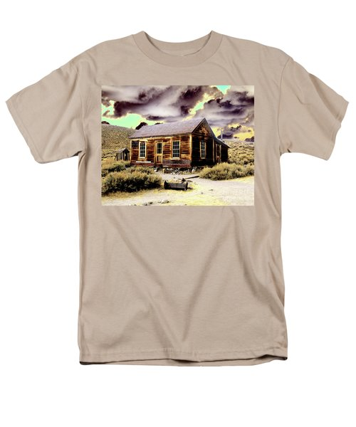 Men's T-Shirt  (Regular Fit) featuring the photograph Bodie House by Jim and Emily Bush
