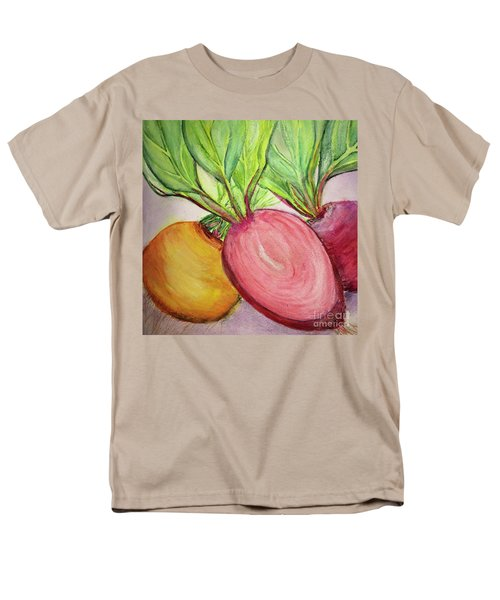 Men's T-Shirt  (Regular Fit) featuring the painting Bold Beets by Kim Nelson