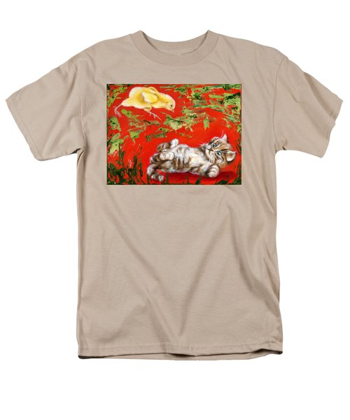 Men's T-Shirt  (Regular Fit) featuring the painting Born To Be Wild by Hiroko Sakai