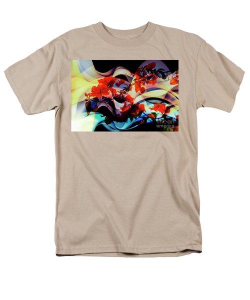 Men's T-Shirt  (Regular Fit) featuring the photograph Bougainvillea At Joe's Secret Garden IIi by Al Bourassa