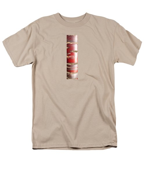 Bouleau Rouge Men's T-Shirt  (Regular Fit) by Marc Philippe Joly