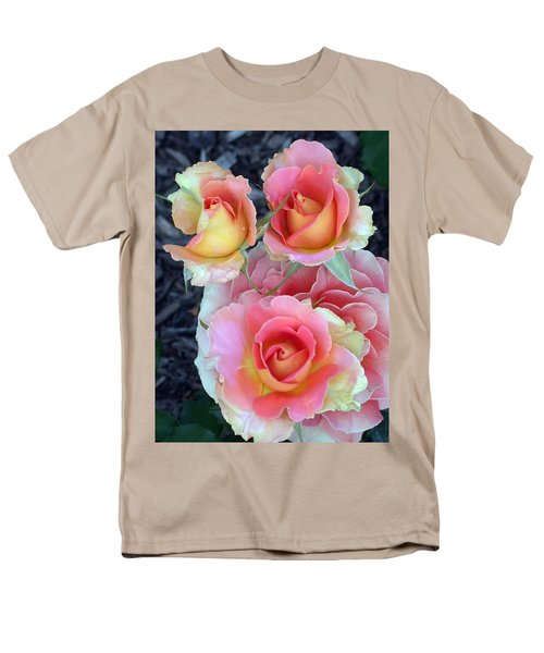 Brass Band Roses Men's T-Shirt  (Regular Fit) by Living Color Photography Lorraine Lynch