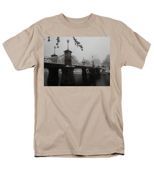 Bridge In Suspension 1867 Men's T-Shirt  (Regular Fit) by Robert Nickologianis