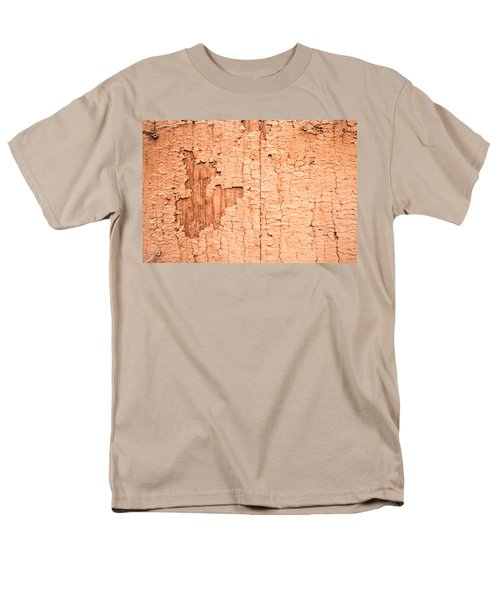 Men's T-Shirt  (Regular Fit) featuring the photograph Brown Paint Texture by John Williams