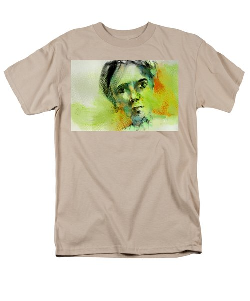 Men's T-Shirt  (Regular Fit) featuring the painting Bryant by Jim Vance