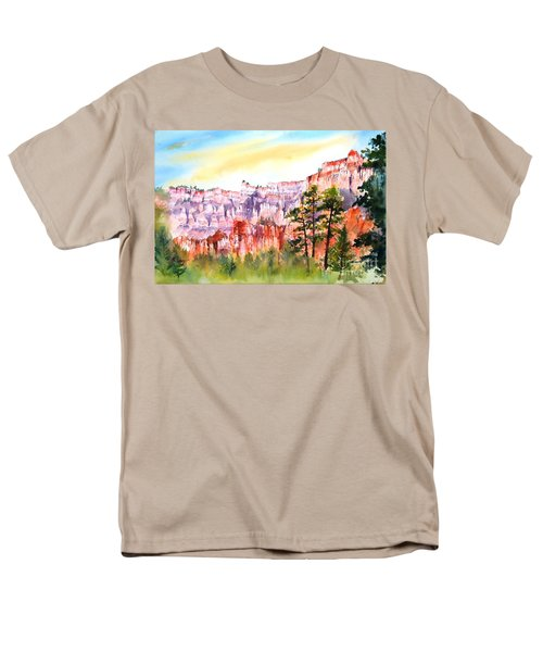 Bryce Canyon #3 Men's T-Shirt  (Regular Fit) by Betty M M Wong