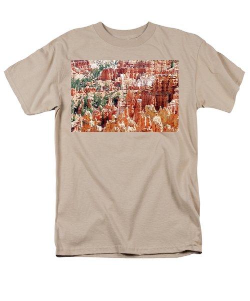 Bryce Canyon Hoodoos Men's T-Shirt  (Regular Fit) by Nancy Landry