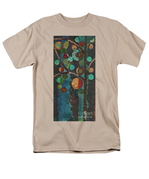 Bubble Tree - Spc02bt05 - Left Men's T-Shirt  (Regular Fit) by Variance Collections