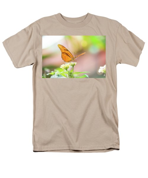 Butterfly - Julie Heliconian Men's T-Shirt  (Regular Fit) by Pamela Williams