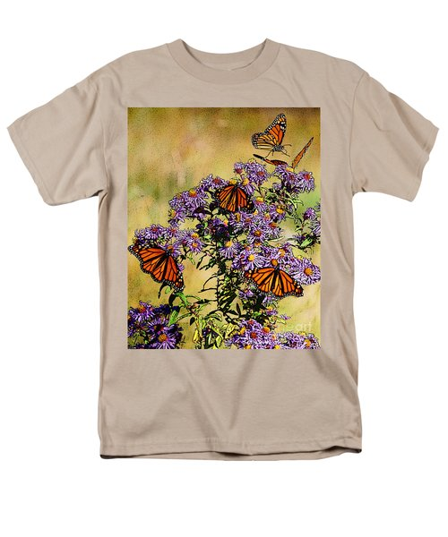Butterfly Party Men's T-Shirt  (Regular Fit) by Diane E Berry