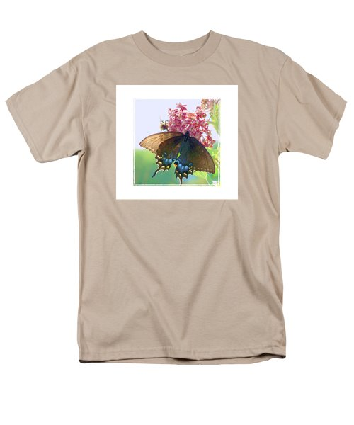 Butterfly Summer 3 Men's T-Shirt  (Regular Fit) by Shirley Moravec