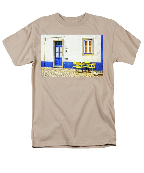 Cafe In Portugal Men's T-Shirt  (Regular Fit)