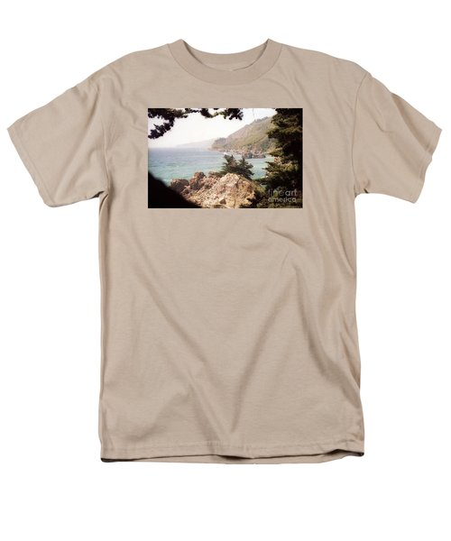 Calif Coast Drive Ocean View Men's T-Shirt  (Regular Fit) by Ted Pollard