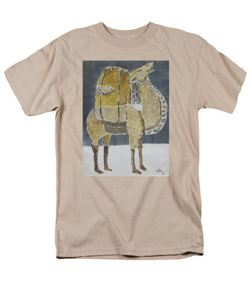 Camel Facing Right Men's T-Shirt  (Regular Fit)
