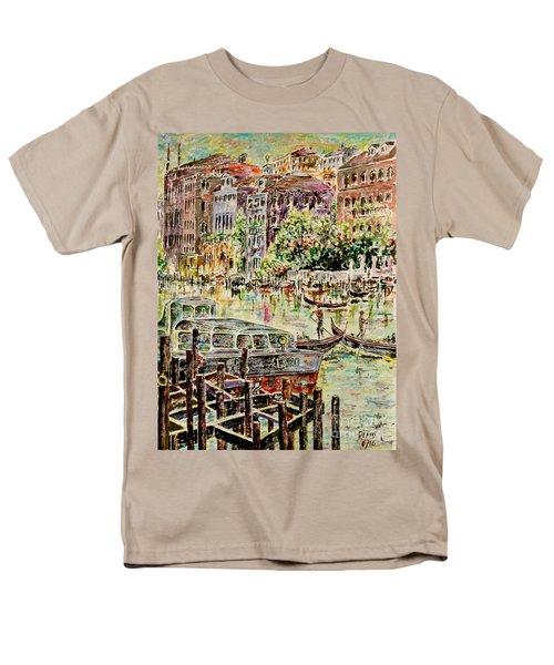 Canale Grande Men's T-Shirt  (Regular Fit) by Alfred Motzer