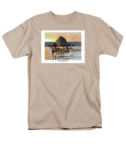 Cannon Beach Men's T-Shirt  (Regular Fit)