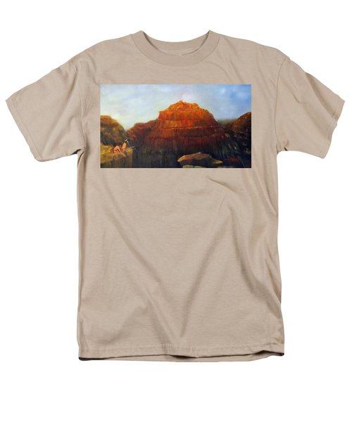 Canyon Overlook II Men's T-Shirt  (Regular Fit) by Loretta Luglio