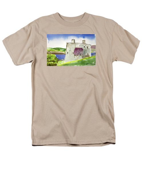 Castle From The Hill Men's T-Shirt  (Regular Fit)