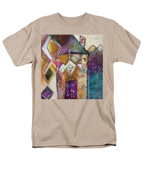 Castle Tower Men's T-Shirt  (Regular Fit) by Karin Husty