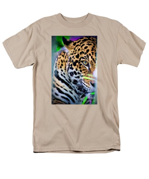 Men's T-Shirt  (Regular Fit) featuring the painting Cat Eye by Judy Kay