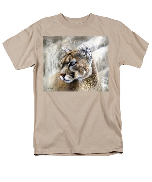 Catamount Men's T-Shirt  (Regular Fit) by Sandi Baker