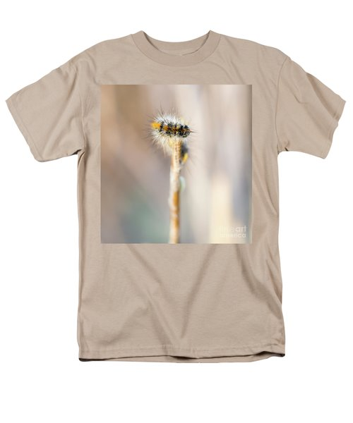 Caterpillar On The Stick Men's T-Shirt  (Regular Fit) by Gurgen Bakhshetsyan