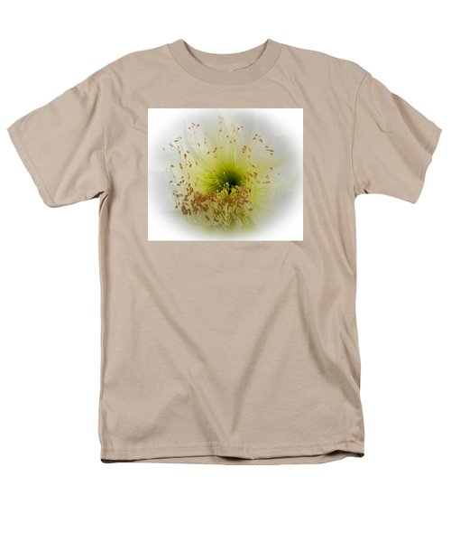 Cctus Flower Men's T-Shirt  (Regular Fit) by Christy Usilton
